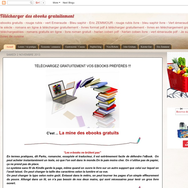 Télécharger des ebooks gratuitement