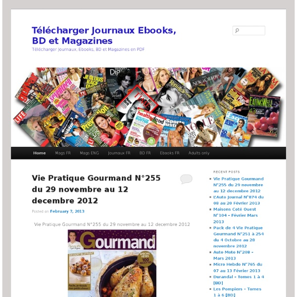 Telecharger Journaux Ebooks, BD et Magazines
