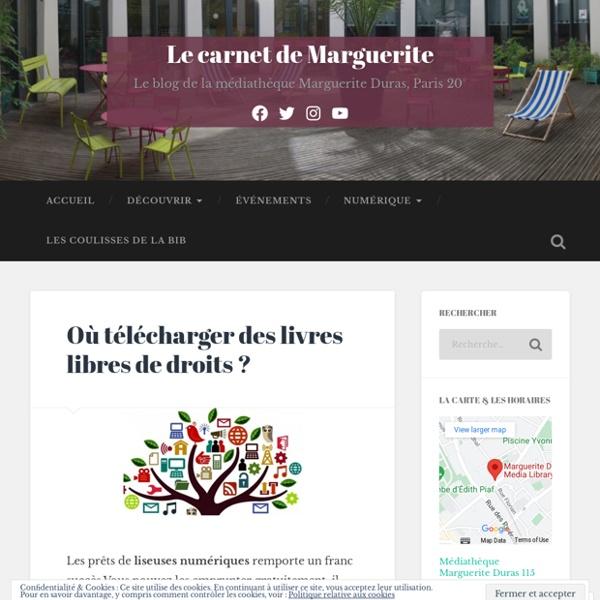 Où télécharger des livres libres de droits ? – Le carnet de Marguerite