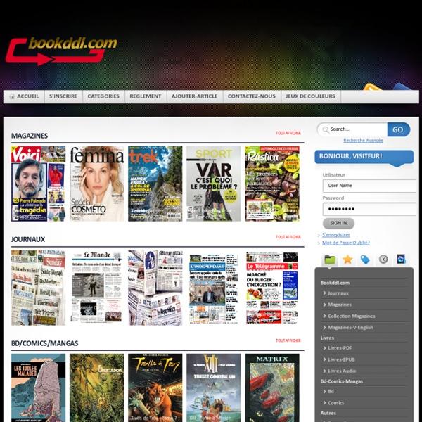 Télécharger journal magazine livre bd comics manga walpaper