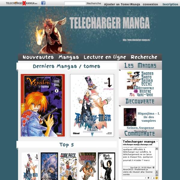 site pour telecharger des manga