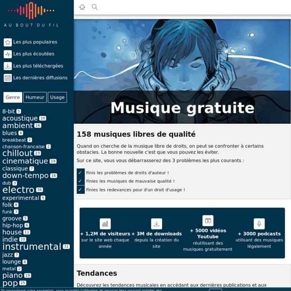 Télécharger de la musique libre et gratuite