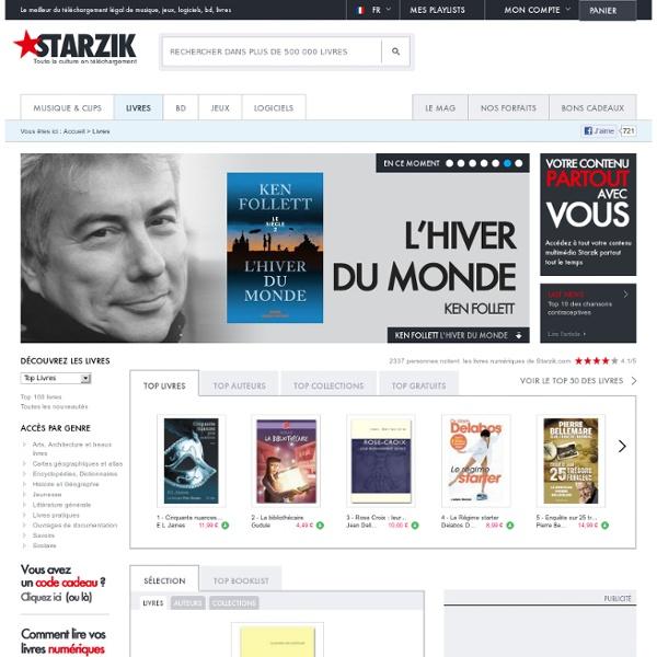 ★Le meilleur des livres eBook sur Starzik