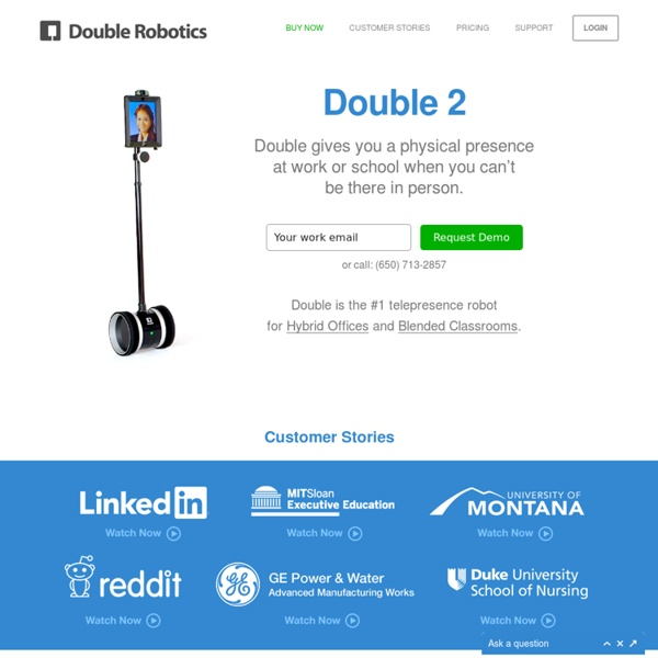 Double Robotics - Wheels for your iPad