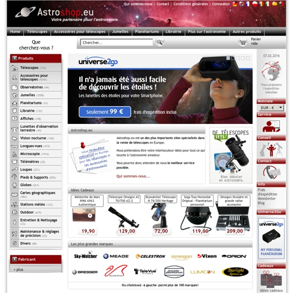 Télescope expert Astroshop