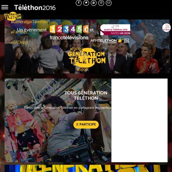 Téléthon 2016, 2 et 3 décembre prochains