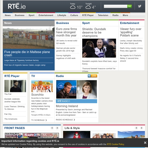 RTÉ Ireland's National Television and Radio Broadcaster