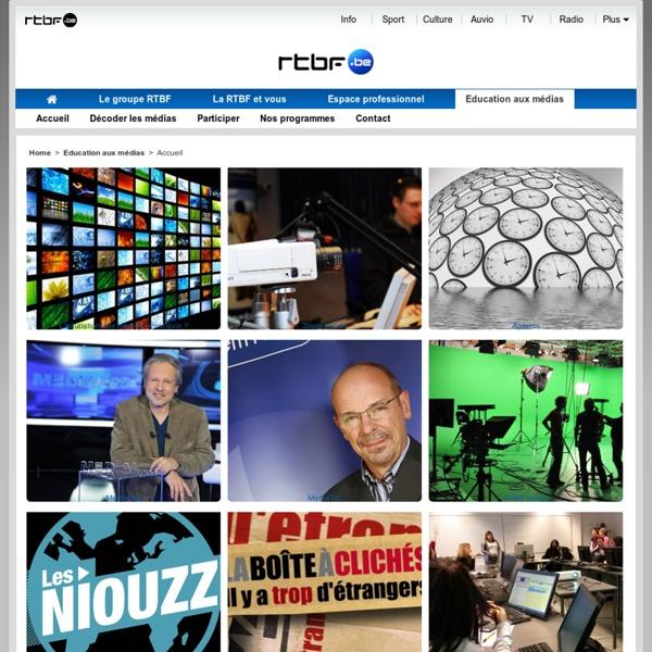 Le site de la Radio-Télévision belge de la Communauté française.