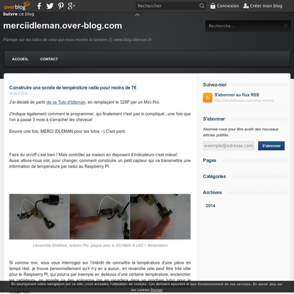 Construire une sonde de température radio pour moins de 7€ - merciidleman.over-blog.com