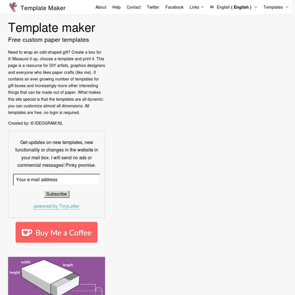 Free Box Template Maker
