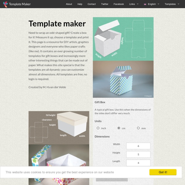 Free Template Maker Pearltrees