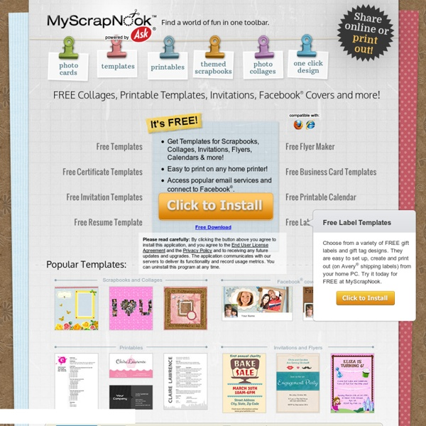 Scrapbook-Get Free Scrapbooking Ideas & Scrapbook Layouts-MyScrapNook