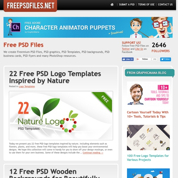 Free PSD Files, Templates, Graphics, Flyers , Business Cards