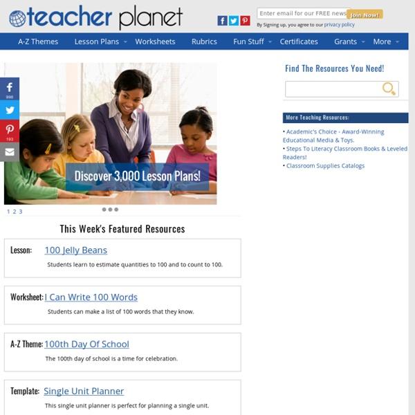 Welcome to Teacherplanet.com