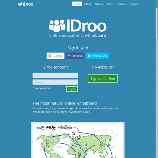 IDroo - Online Educational Whiteboard