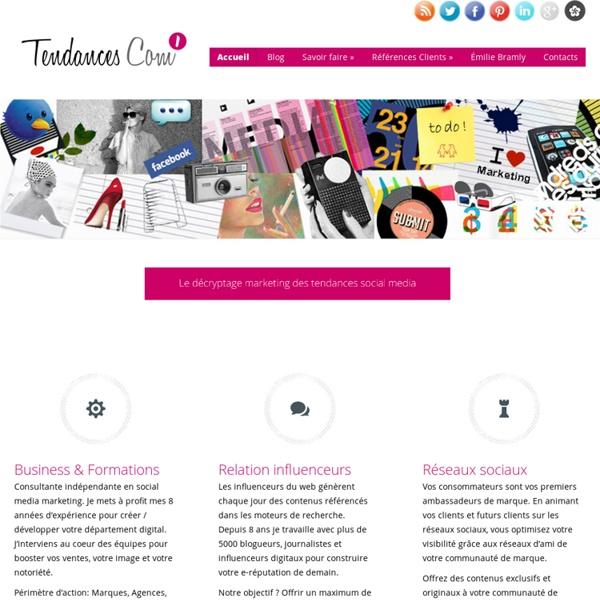 Le blog des tendances de la communication (publicité, marketing, web 2.0, internet, nouveauté, usage, innovation)