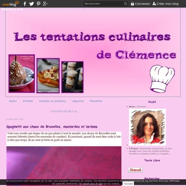 Les tentations culinaires de Clémence
