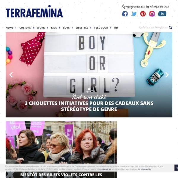Terrafemina : Actus et Réseaux au féminin - Portail d'informations en ligne