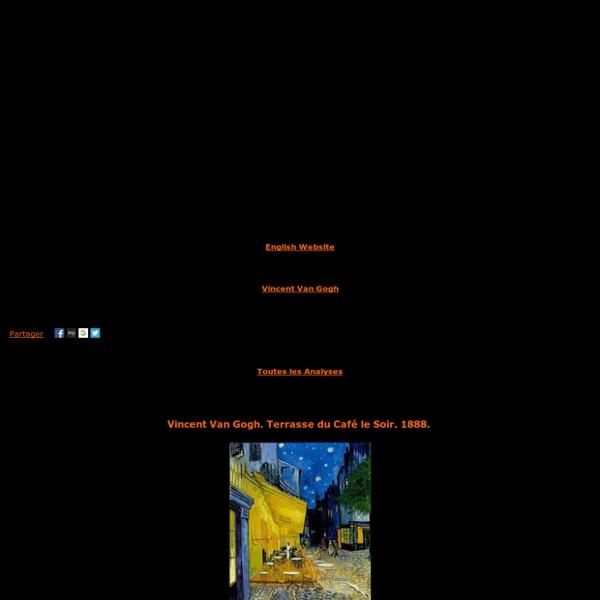 Analyse: Vincent Van Gogh,Terrasse du Café le Soir,1888