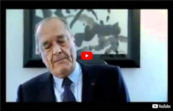 Les terribles révélations de Jacques Chirac.