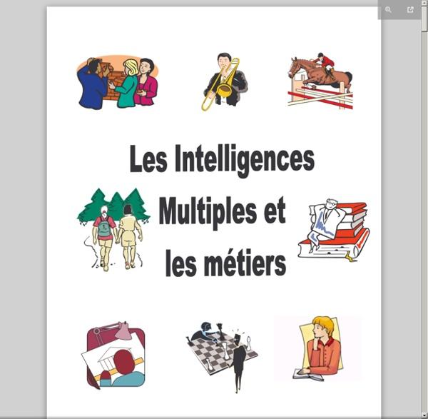 Les intelligences multiples et les métiers.pdf