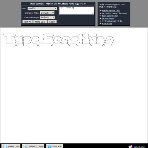ascii art generator c++