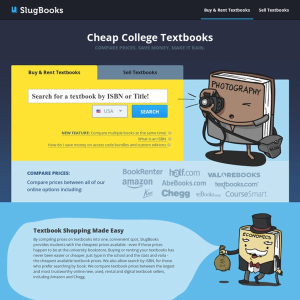 Compare College Textbook Prices