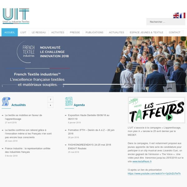 L'union des Industries Textiles actives en France