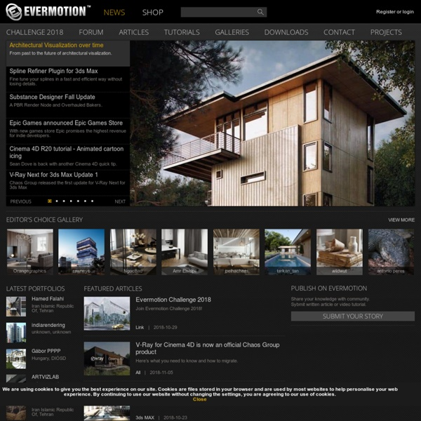{E}vermotion - 3D models, textures, tutorials, architecture, 3D graphic, vray, 3ds max
