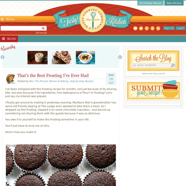 A Tasty Recipe: That's the Best Frosting I've Ever Had – Tasty K