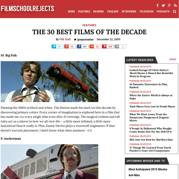 The 30 Best Films of the Decade