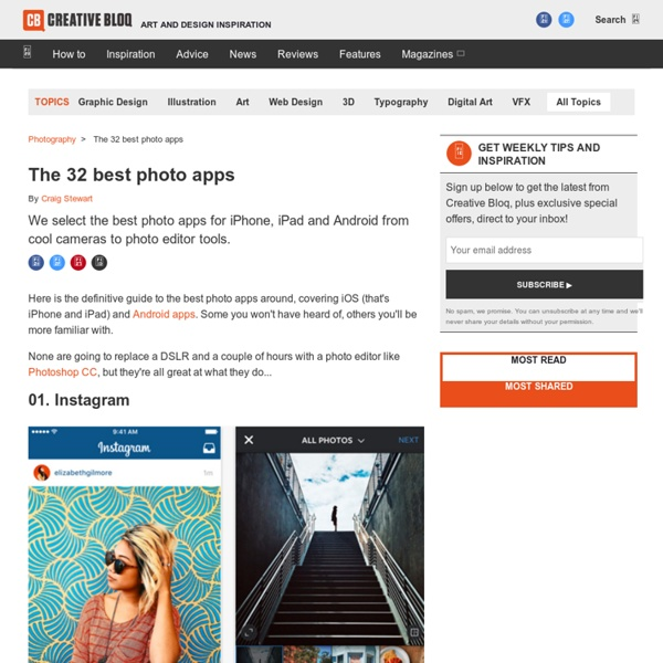 The 30 best photo apps