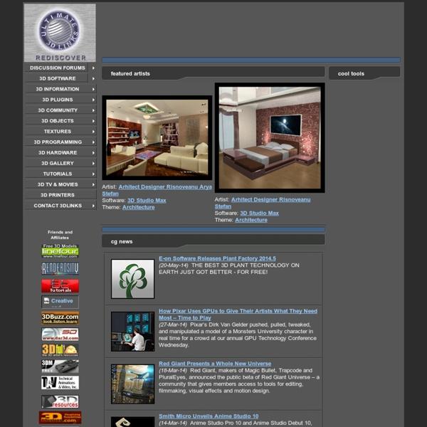 The 3DLinks.com - Ultimate 3D Links