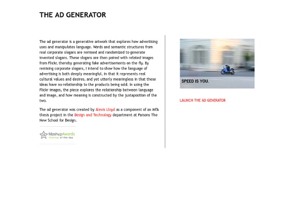 THE AD GENERATOR