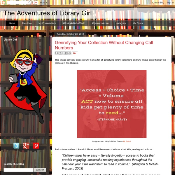 The Adventures of Library Girl