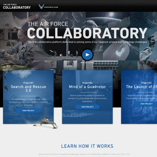 The Air Force Collaboratory