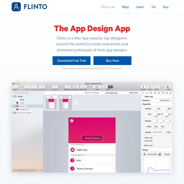 App Prototyping Tools For Designers
