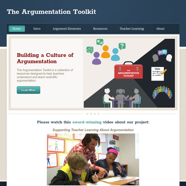The Argumentation Toolkit - Home