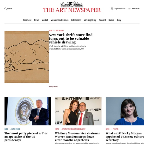The Art Newspaper - Home