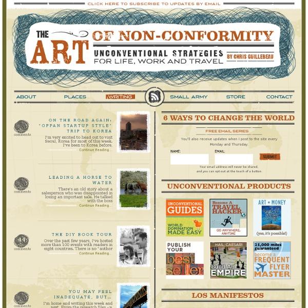 L'art de l'anti conformisme
