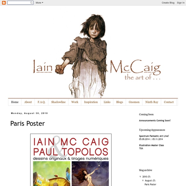 The art of iain mccaig