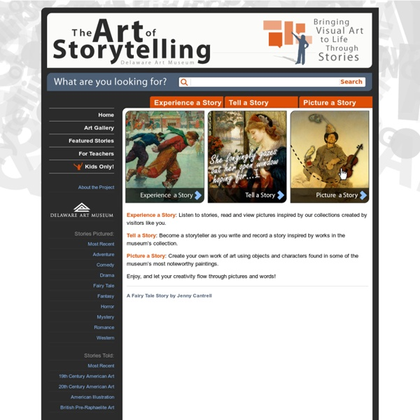 The Art Of Storytelling » Home