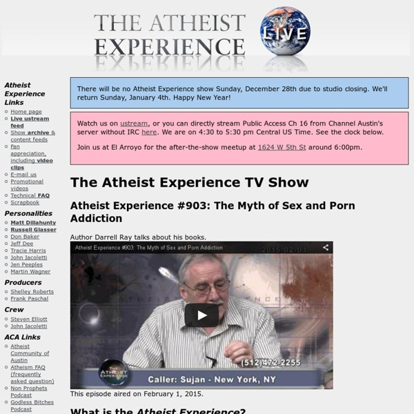 The Atheist Experience TV Show