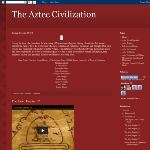 The Aztec Civilization