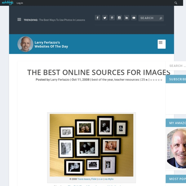 The Best Online Sources For Images