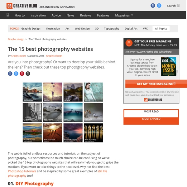 The 15 best photography websites