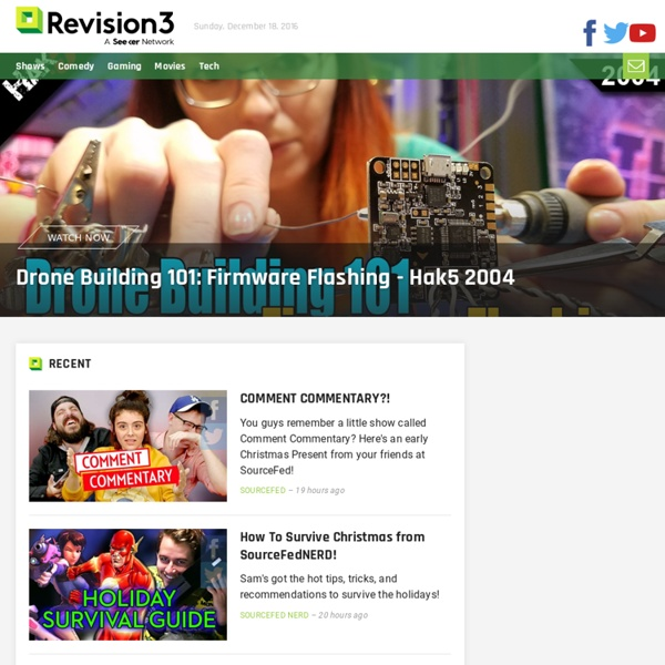 Revision3: The Best TV Shows on the Internet
