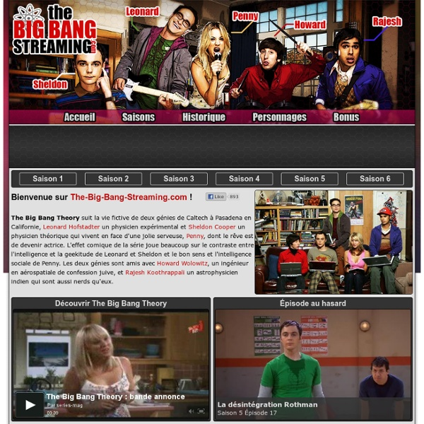 The Big Bang Theory en streaming
