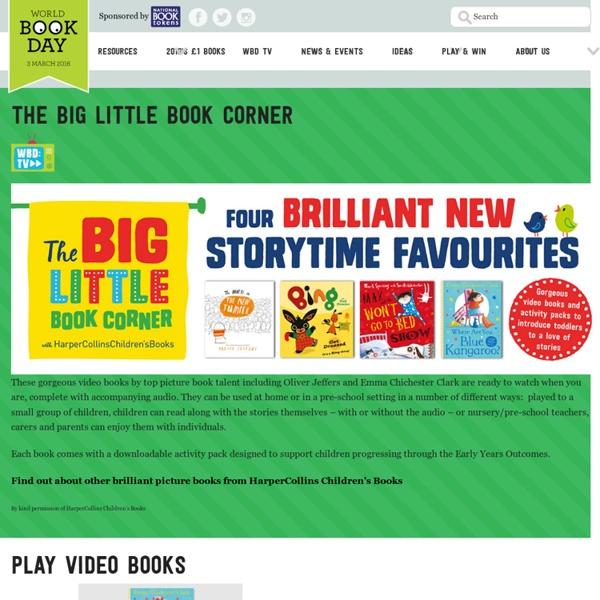 The Big Little Book Corner - World Book Day