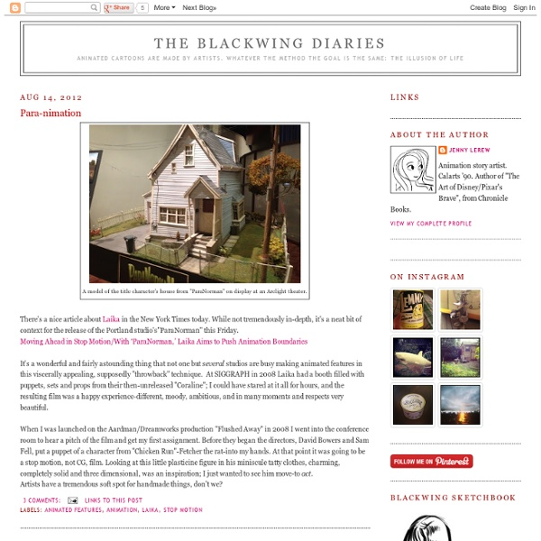 The Blackwing Diaries